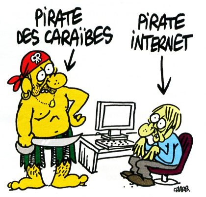 Vrai pirate d'internet